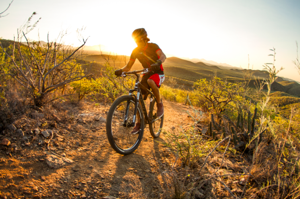 Mountain Biking in todos santos- tres santos