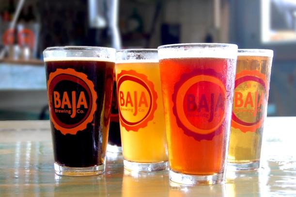 Baja Brewing in Cabo- Tres Santos