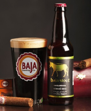 oatmeal stout-Baja Brewing in Cabo- Tres Santos