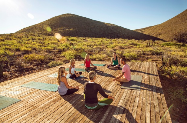 Although Classes Will Be Held On Tres Santos Outdoor Yoga Pavilion The Hilltop Sanctuary Is Also A Lovely Spot For Solitary Practice Any Time Of