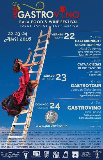 GastroVino festival - Tres Santos, Todos Santos blog